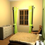 Chambre4 vert3 lin